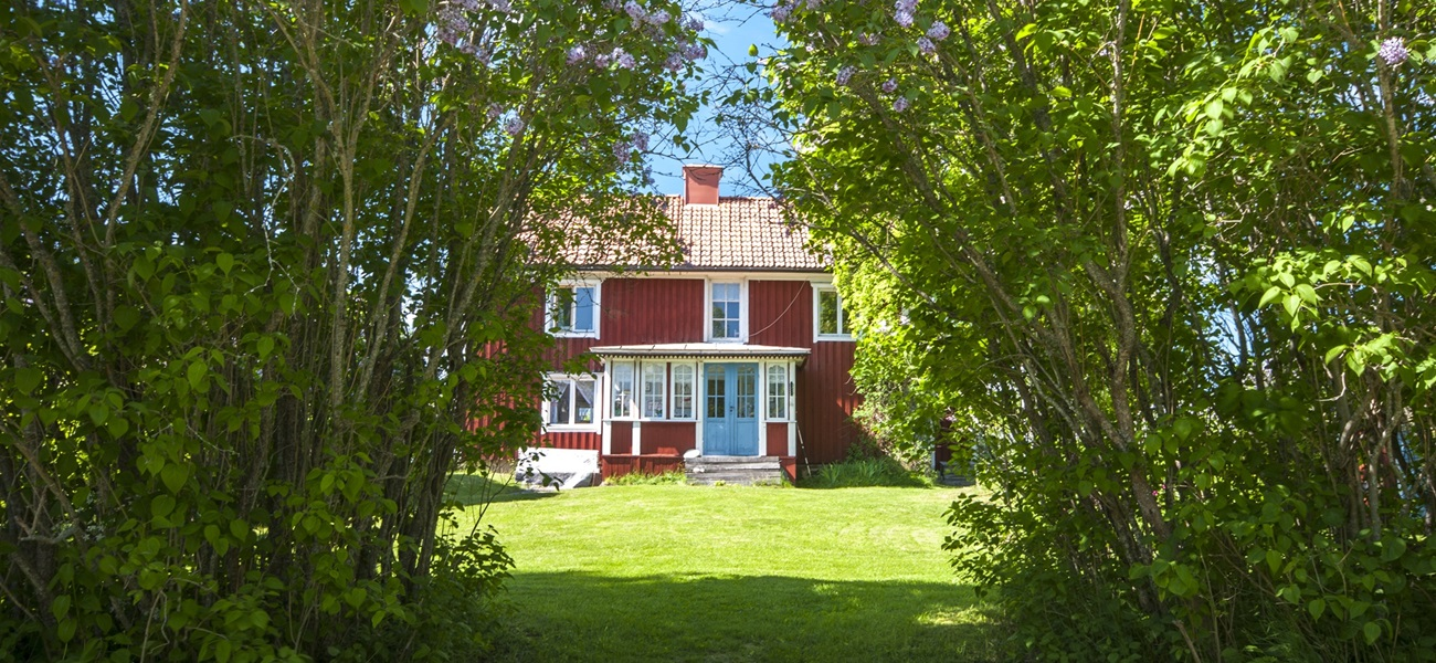 Typical Swedish houses